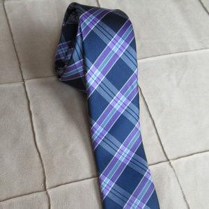 Original Penguin Plaid Print Tie